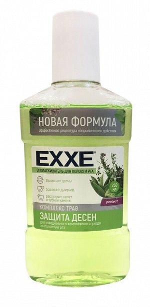 """Ополаскиватель полости рта EXXE """"Защита десен"""" (зеленый), 250 мл/24шт"""