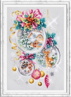 Набор для вышивания Рождественская сказка 22*32 см