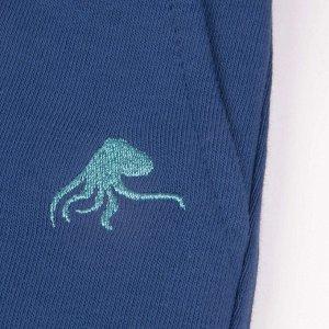 Брюки ДМ Количество в упаковке: 1; Артикул: BN-492В21-461-С; Цвет: Синий; Ткань: Футер 2-х нитка; Состав: 100% Хлопок; Цвет: Синий   Синий Скачать таблицу размеров