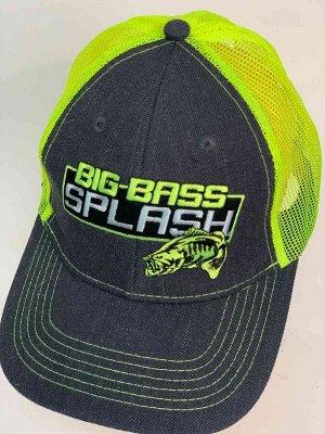 Бейсболка Яркая бейсболка BIG BASS SPLASH №6243