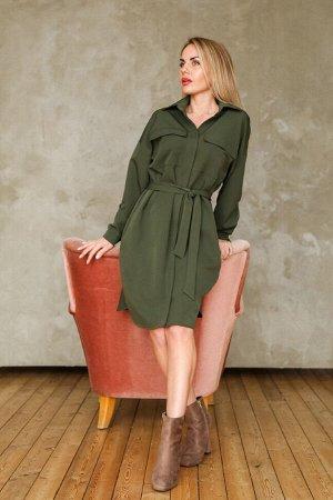 Платье 469, хаки