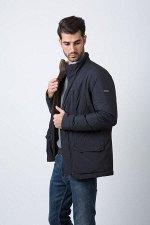 Демисезонная мужская куртка Hermzi, цвет Темно-синий