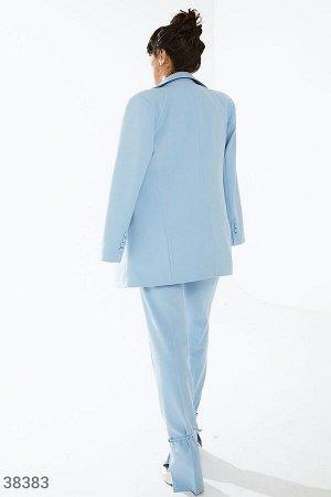 Gepur box с костюмом нежно-голубого оттенка