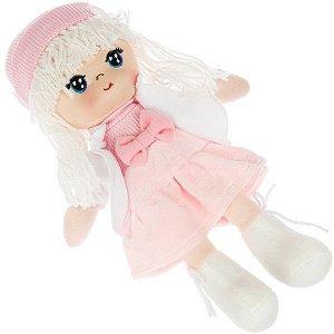 Мягкая кукла Oly, размер 26 см, РАС, Лика-белые волосы
