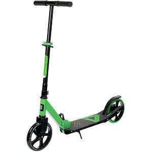Самокат детский BONDIBON DELTA сталь+пластик, складной, колеса PU 200*200мм, зеленый