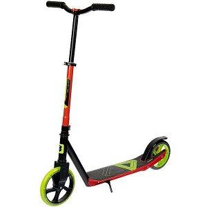 Самокат детский BONDIBON DELTA сталь+пластик, нескладной, колеса PU 200*180мм, зеленый