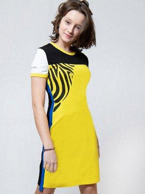 Платье прилегающего силуэта для девочки