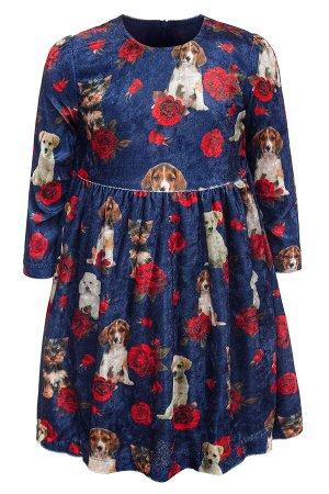 Платье для девочки на подкладке