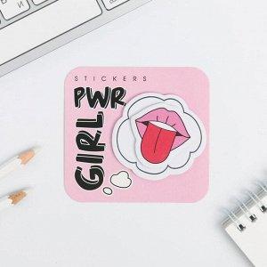 Двухслойные стикеры Girl, 40 листов