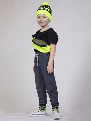 Брюки спортивные прямые со средней посадкой для мальчика