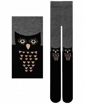 Серые колготки для девочки Цвет: серый