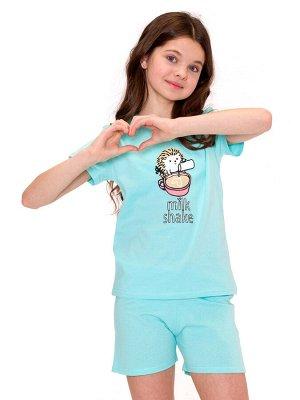 Пижама для девочек арт 11386