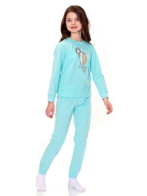 Пижама для девочек арт 11384