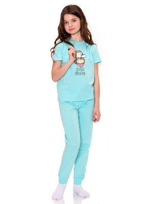 Пижама для девочек арт 11385