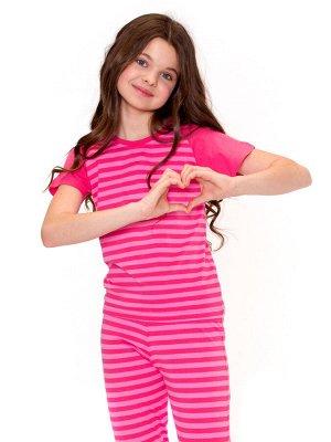 Пижама для девочек арт 11040-6