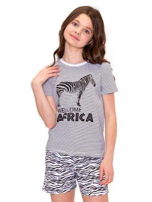 Пижама для девочек арт 11400