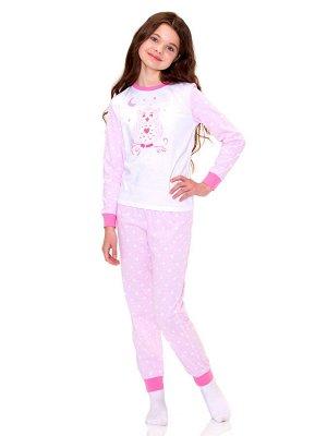 Пижама для девочек арт 11312-1