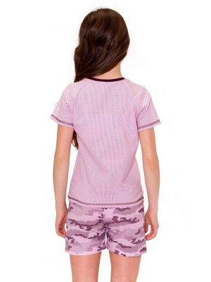 Пижама для девочек арт 11373