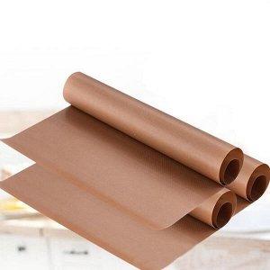 Бумага для выпечки силиконизированная коричневая 380мм х 50метров
