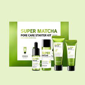 Some by mi Super Matcha Pore Care Starter Kit Набор миниатюр с Матча (4 предмета)