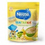 NESTLE Каша молочная Шагайка 5 злаков Ябл-Банан-Груша 200г
