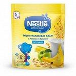 NESTLE Каша молочная 5 злаков Ябл-Банан 220г