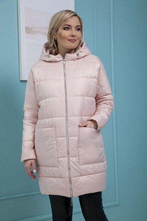 Пальто Пальто Azzara 3085П-Р  Состав: ПЭ-100%; Сезон: Весна Рост: 170  Пальто стеганное из плащевой ткани с пропиткой, укороченное, силуэта баллон, со спущенной проймой с капюшоном, застежки спереди