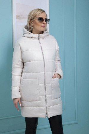 Пальто Пальто Azzara 3085  Состав: ПЭ-100%; Сезон: Весна Рост: 170  Пальто стеганное из плащевой ткани с пропиткой, укороченное, силуэта баллон, со спущенной проймой с капюшоном, застежки спереди не