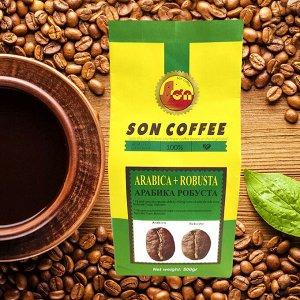 Молотый кофе Son Coffee Арабика + Робуста 500 гр