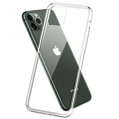 Закаленные защитные стекла для смартфонов. Новинки — Прозрачные силиконовые чехлы на IPhone — Для телефонов