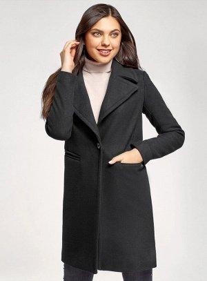 Пальто приталенное на пуговице