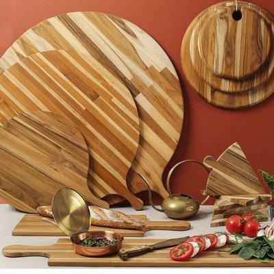 Дизайнерские вещи для дома+ кухня, акция мая — TEAKHAUS - стильные и долговечные доски — Кухня