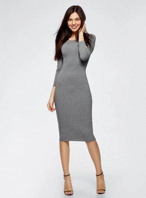 Платье с вырезом-лодочкой (комплект из 2 штук)