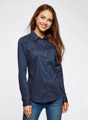 Рубашка базовая с нагрудным карманом