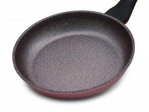 Сковорода Ecoramic 24 см с каменным антипригарным покрытием без крышки
