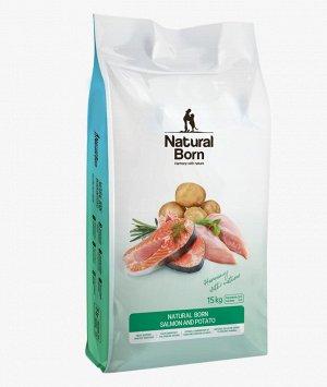 Salmon & Potato (Лосось и картофель) для собак мелких пород всех возрастов, 15 кг