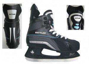 Коньки хоккейные Battler PW-216CD р.40