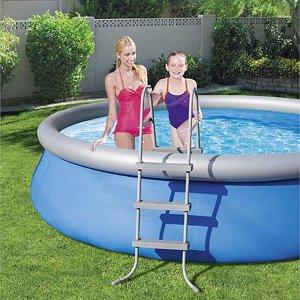 Лестница для бассейнов до 91см, 3 ступеньки, без площадки
