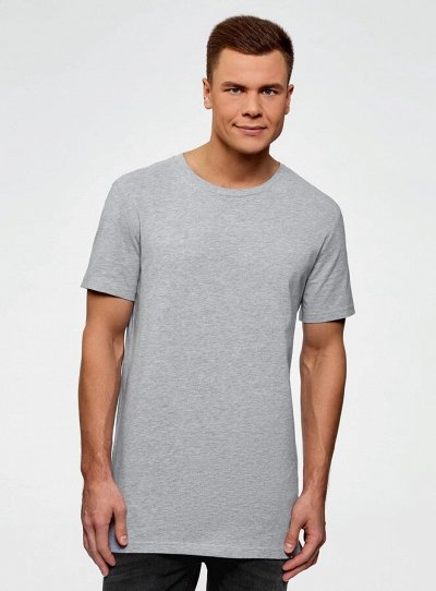Oodjii верхняя одежда со скидками — Мужская коллекция. Футболки. Удлиненные футболки