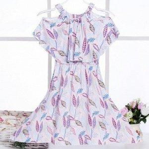 Сарафан Маленькая модница сможет надеть такой сарафан не только на повседневную прогулку, но и, дополнив образ яркими аксессуарами, на праздник.  Размер Длина Бюст Рост L      63 78105-115cm XL67 82