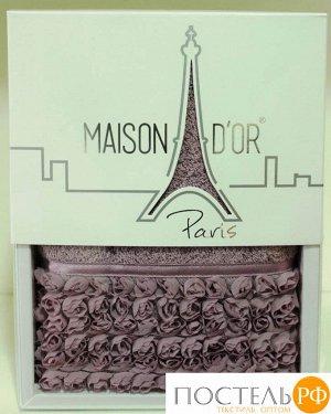 """Полотенце в коробке """"ROSA"""" ФИОЛЕТ (50*100) (Maison Dor)"""
