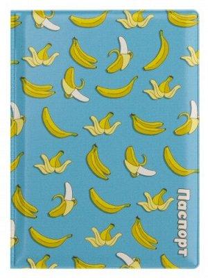 """Обложка для паспорта """"Бананы"""""""