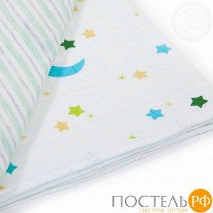 2280 Одеяло-покрывало трикотажное 100*140 Ночка
