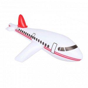 Игрушка надувная «Самолёт» 65 см