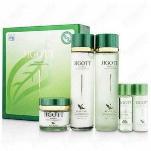 Набор для комплексного ухода за кожей лица с экстрактом зелёного чая