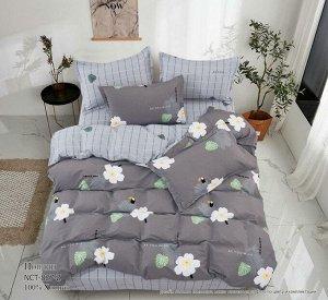 Комплект постельного белья Евростандарт, поплин (Загадай желание)