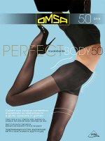 OMSA / Колготки PERFECT BODY 50(моделирующие шортики, распределённое давление по ноге)