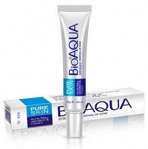 Концентрированный крем от прыщей и акне точечного действия BIOAQUA Pure Skin, 30мл