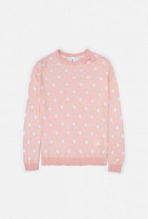 Джемпер детский для девочек Pietra пыльный розовый
