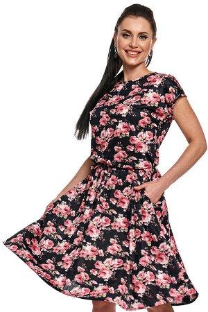 "Платье ""Хилена"" (розы) П2105"